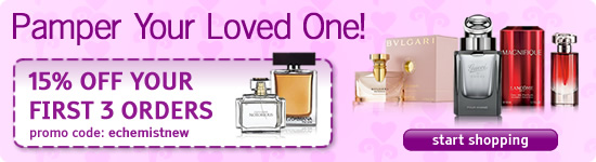 Pamper Your Valentine! - 15% OFF YOUR FIRST 3 ORDERS - promo code: echemistnew